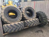 Telehandler tyres