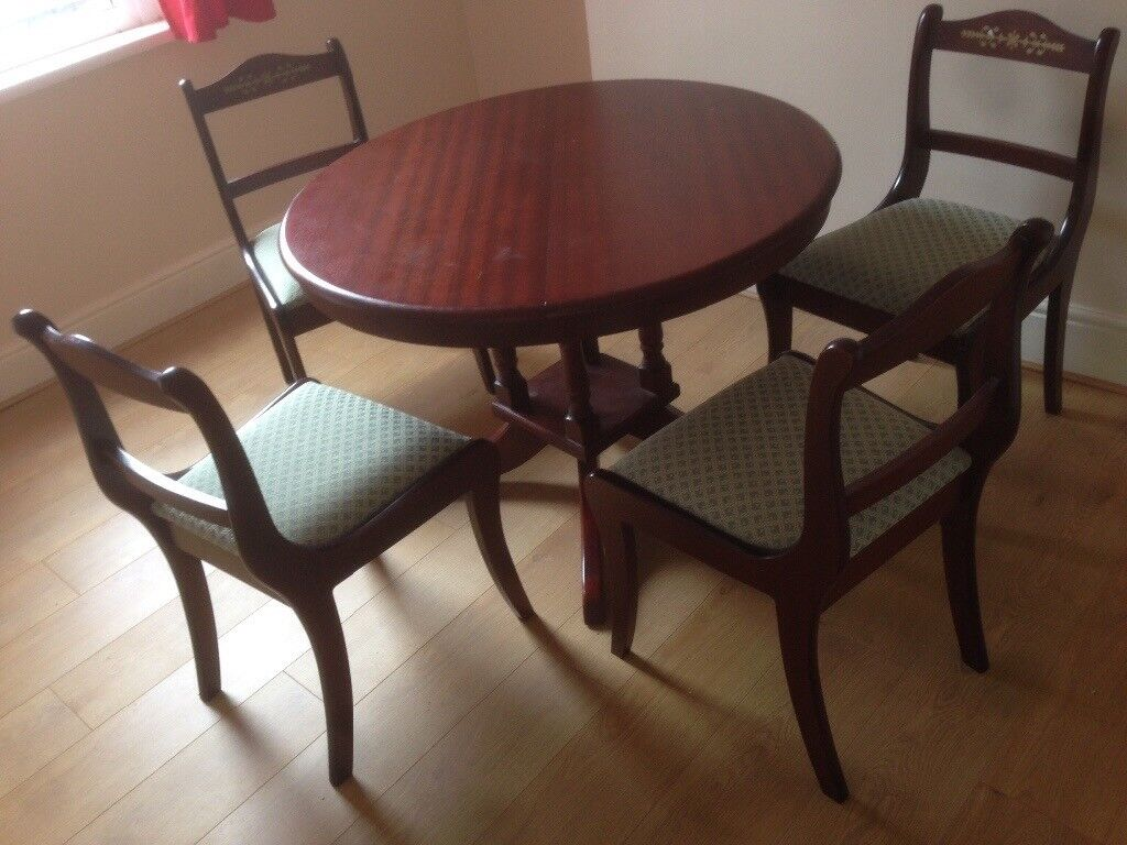 dining table and 4 chairs in brinsworth south yorkshire gumtree