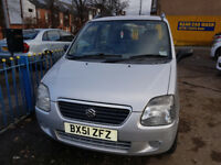 Suzuki Wagon R (Petrol, 1.3, 2 Owners, 1 year MOT, brilliant drive)