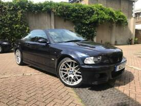 E46 BMW M3 Carbon Black/Black Manual Low Miles Big History and lots of New Parts