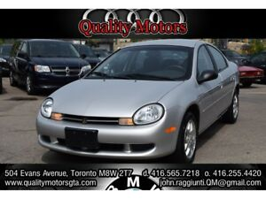 2001 Chrysler Neon LE  CERTIFIED