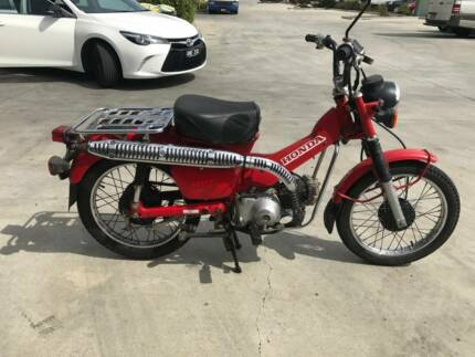 HONDA CT110 01/2008MDL 35716KMS PROJECT NO WOVR MAKE OFFERS
