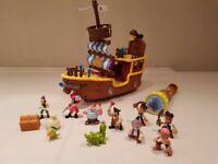 Jake & the Neverland Purate ship & figures