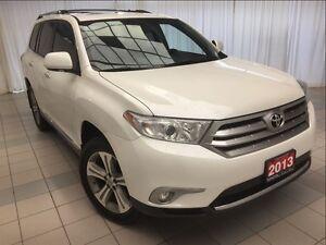 2013 Toyota Highlander Limited *Loaded*