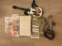 White Will + games + wii fit board + lots of extras