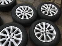 """Volkswagen Golf MK5 15"""" Alloy Wheels. Set of 4."""