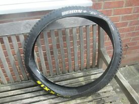 "Maxxis Rekon mountain bike tyre, 27.5/650B, 2.8"" plus size, as new used once"