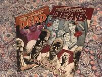 The Walking Dead comics paperback vol. 1 & 10