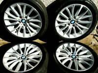 18 inch 5x120 genuine BMW 5 series F10 / F11 alloy wheels