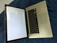 "APPLE MACBOOK PRO 15,4"" WITH UK CHARGER"