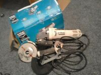 Mac Allister 220-240V 115mm Angle Grinder