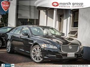 2013 Jaguar XJ 3.0L AWD 3 X MINT ALL Orginal!!!