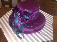 Wedding hat - Joyce Young - in box & like new