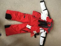 Boys Ski Jacket and Salopettes Etirel Age 6