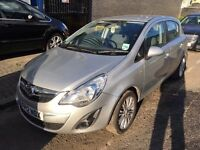 2012 VAUXHALL CORSA AUTO. BRILLIANT DRIVE. FULL SERVICE HISTORY. RECENTLY SERVICED.3 MONTHS WARRANTY