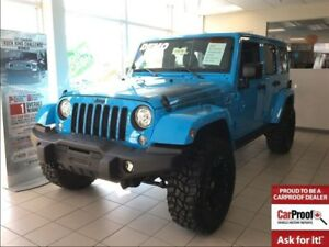 2017 Jeep WRANGLER UNLIMITED *SAHARA* DEMO* ONLY 4310 KMS*