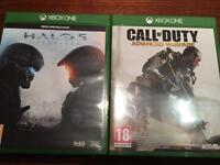 HALO 5 & CALL OF DUTY - XBOX ONE