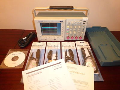 Tektronix Tds3054c 500 Mhz 4 Ch 5 Gss Digital Oscilloscope - Calibrated