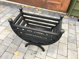 Contemporary Fire Basket Grate