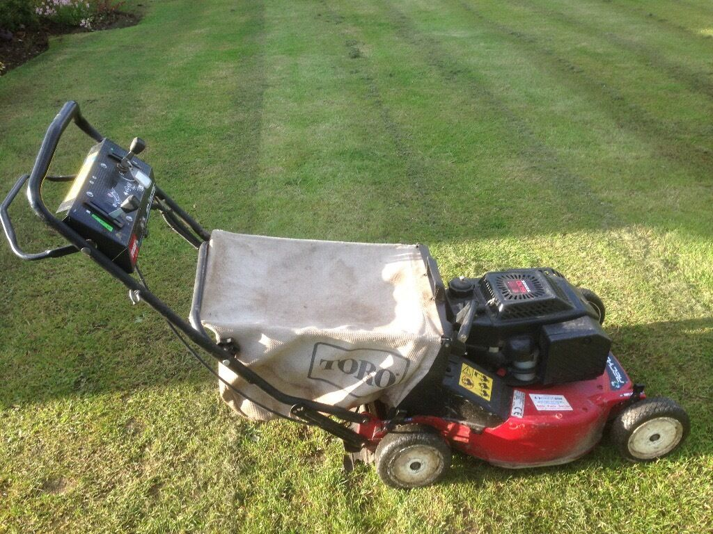 Lawn Mower Toro 600 Series Key start 53cm Recycler | in ...