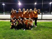 BEGINNERS MIDWEEK FOOTBALL FOR LADIES WOMENS FOOTBALL SOCCER/SOCIAL/FITNESS/FUN/FUTSAL/PLAYER/5ASIDE