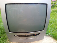 FREE - Portable TV with integrated DVD player