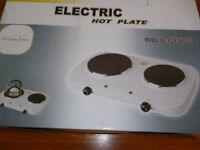 Andrew James Electric Dual Hot Plate Hardly Used