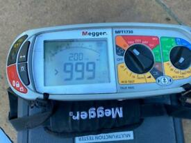 MEGGER 1730 MULITFUNCTION 18th EDITION TESTER JUST CALIBRATED