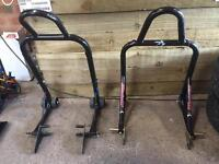 Moto GP front and rear paddock stands