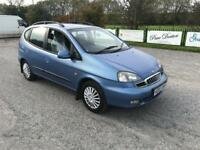 DAEWOO TACUMA 1.6 SX . 1 YEARS MOT ONLY DONE 69k FULL HISTORY. DRIVES THE BEST.