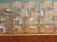 19 x GU Dessert Glass Ramekins Dishes Creme Brûlée Soufflé Candle Tealight Holders