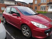 Peugeot 307 automatic low mileage 55 plate