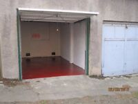 Lockup Garage to Let - with Electricity - Central location near Leith Walk