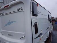 ELDDIS AVANTE 556 6 BERTH CARAVAN WITH AWNING