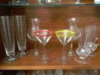 8 Cocktail Glasses (Collect Only)