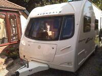 4 berth Avondale Osprey 2007 touring caravan for sale
