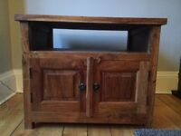 Hand Made wooden TV cabinet