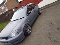 Honda civic ej9 hatch for sale or swap for ep2 type r rep
