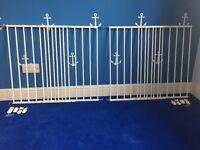 Two babydan baby gates safety