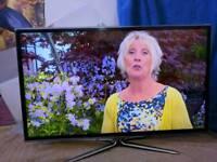 Samsung 40 smart internet freeview Tv