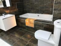 Bathroom Replacement free quotation - professional plumbing and tiling