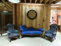 Renaissance Style 3 Piece Parlour Suite