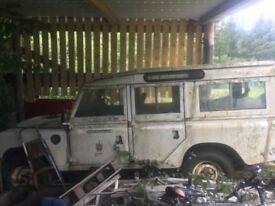 Landrover s3 109 station wagon