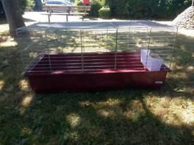 Indoor guinea pig/rabbit cage