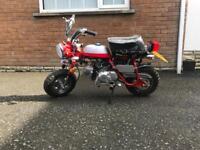 Monkey bike For Sale, Road Legal £595