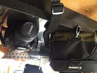 Canon SLR 1100D E0S Camera - Excellent condition, hardly used. Comes with Canon Carry case
