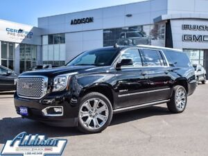 2017 GMC Yukon XL Denali One owner, accident free