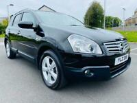 2009 NISSAN QASHQAI N-TEC + 2 DCI 7 SEATER FULL SERVICE HISTORY EXCELLENT CONDITION