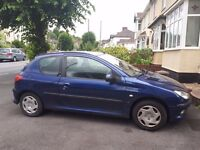 2003 Peugeot 206 1398cc Diesel (open to offers)