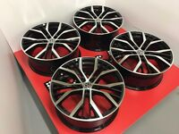 "19"" ORIGINAL VOLKSWAGEN VW GOLF SANTIAGO ALLOYS WHEELS - COMPLETE SET OF 4 FULLY REFURBISHED"